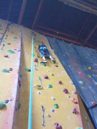 2008-08-01--Jack Climbing 2