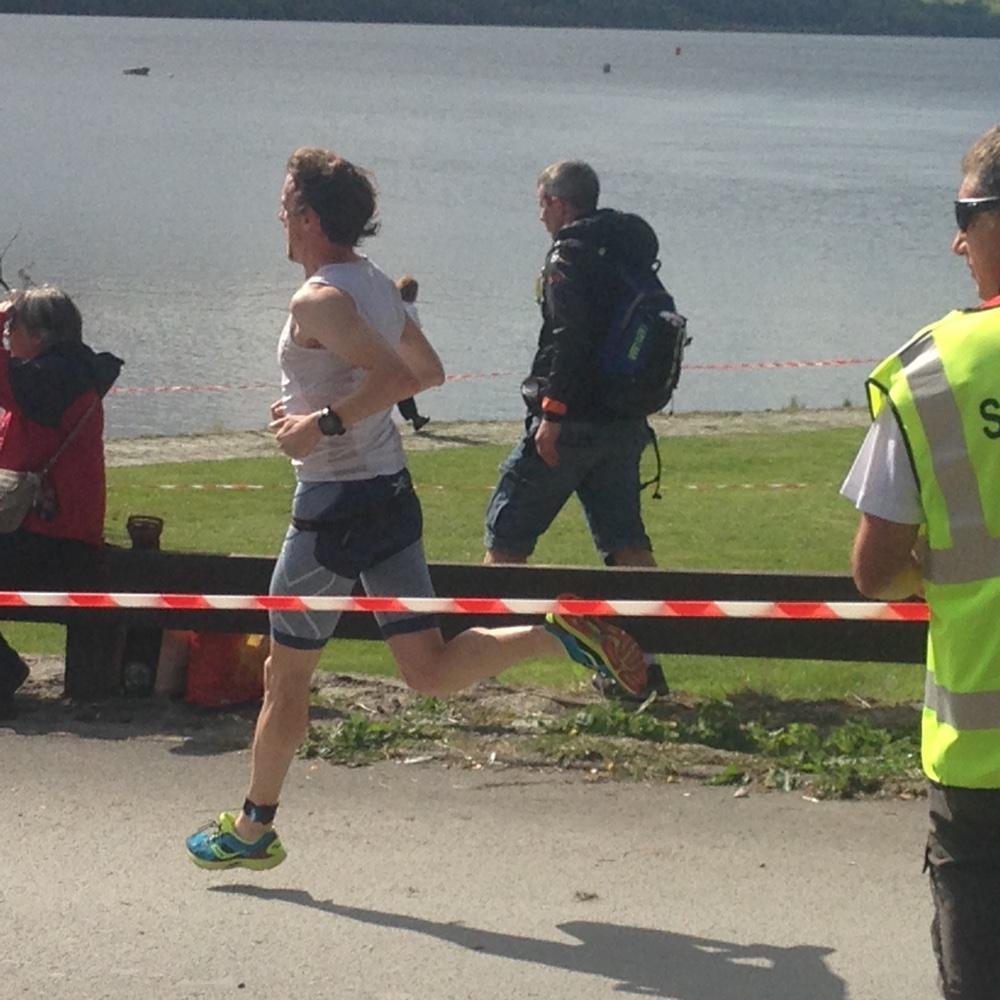 Running at Bala