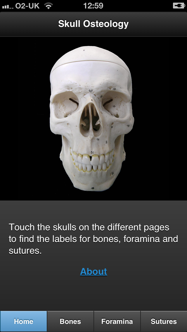 Skull app iPhone screenshot